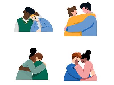 Love Icons branding illustration digital procreate ui icon set iconography love valentine day icons