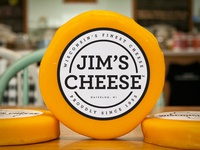 Jims Cheese Label