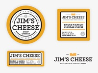 Jims Cheese Labels