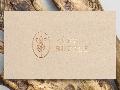 Ruby Buckle stationery paper crafts cards seal flower buckle ruby branding logo