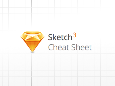 Sketch 3 Cheat Sheet sketch freebie vector icons cheat sheet sketch 3