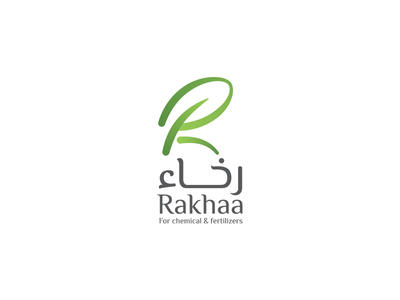 Rakhaa l Fertilizers organic nature logo leaves leaf chemicals green fertilizers constructions branding identity logodesign