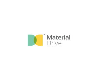 Material driver design logodesign branding brand mark minimal logos logo identity