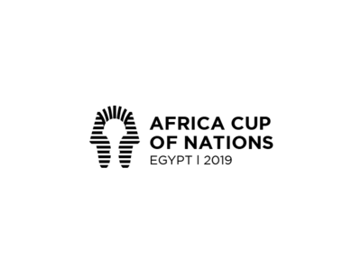 Africa cup of nations 2019 in Egypt logo -unofficial smart mark simple minimal cup egypt sports branding idenity logos logo