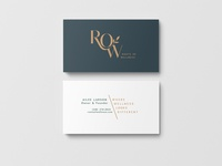 ROW Business Cards