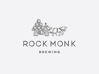 Rock Monk Brewing Primary Logo