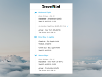 TravelBird - Your Itinerary