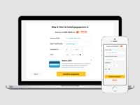 TravelBird payment page UI