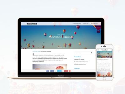 Travelbird Blog international europe interface marketing blog design ux ui mobile web responsive travel