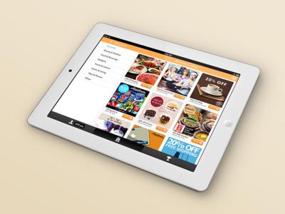 Gimmie makes loyalty fun—iOS Tablet Design ux experience user ui saas reward mobile loyalty tablet clean app ios