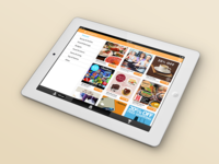Gimmie makes loyalty fun—iOS Tablet Design