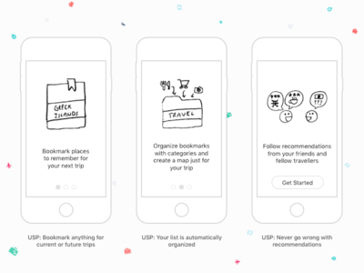 Greenbook Onboarding Flow & UI iphone ios interface user experience minimal clean ui ux mobile travel signup onboarding