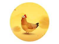 Lovely Hen