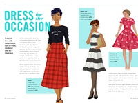 Dress for the occasion editorial illustration