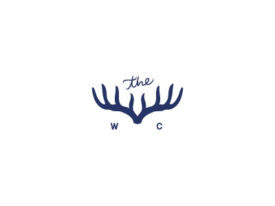 The Wild Child Photography Brand Accent photography logo logo photography photographer child wild child antlers deer enchanting whimsical blue floral