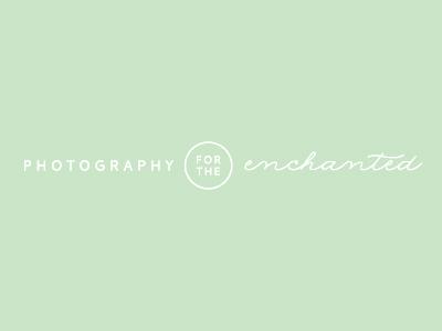 Nichole Burnett Photography Tagline photography logo photographer script whimsical enchanted minimal tagline
