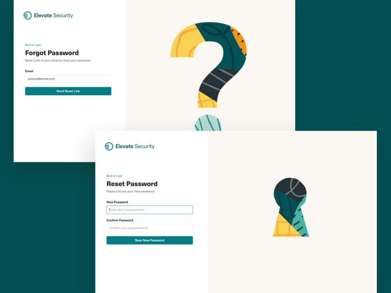 🗝 reset password forgot password