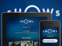 Shows.Fm Website