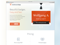 Homepage beta