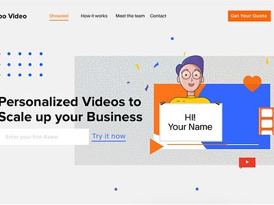 Micro page design website design website webui webuiuxdesign design illustration ui