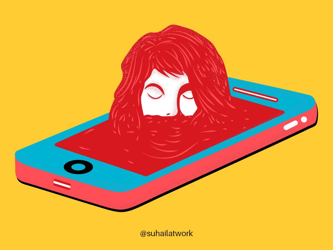 Smartphone vector artworks illustrator vectorart adobe illustration graphicdesign illustration