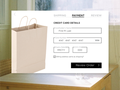 Day 004 credit card payment screen credit card payment credit card payment screen payment day 4 credit card payment day 4 100 days of ui ui