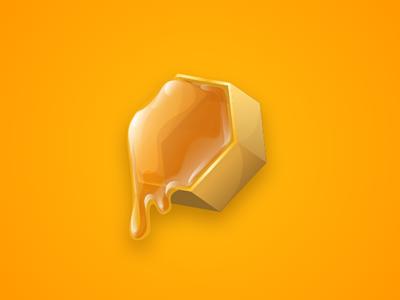 Honey Cell illustrator vector art vector illustration bubble buster bees mobile game honeycomb honey