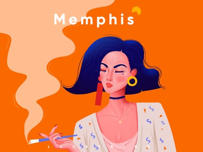 Memphis _Art illustration
