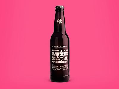 Hello Dribbble! debut 12oz homebrew mircrobrew branding packaging bottle beer