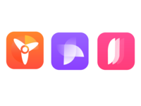 App Icon concepts for Wind Tracker