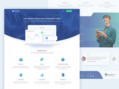 Landing Page rejected web design landing page homepage