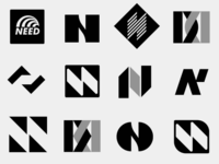 N logo design concepts for NeedGroup®