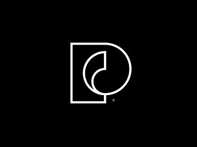 Passika Creations® - PC logo design vector symbol icon mark logotype paint artwork contemporary logo designer design modern logo logo design golden ration artist art art gallery creation passika p logo