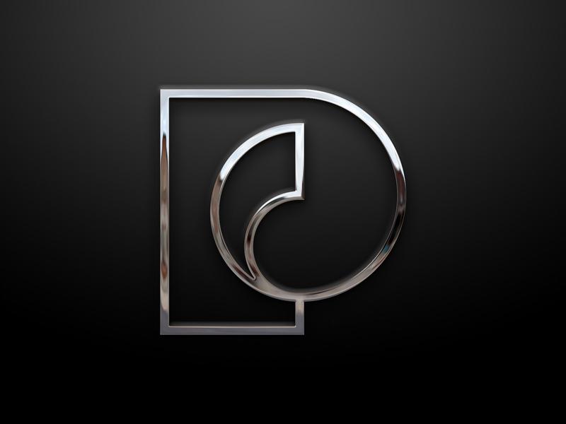 Passika Creations Art Gallery® - PC logo design branding design typography logotype abstract artist paint painter art gallery art gallery event p logo p grid logo modern logo logo design