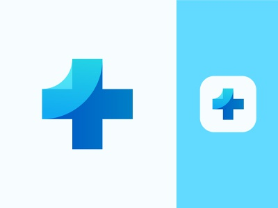 First Aid - Health 🏥 medical logo logo logo design iconography app icon logomark exploration doctor pharmaceuticals pharmacy pharmacist pharma health care band aid bandage medical logo plus one care medical
