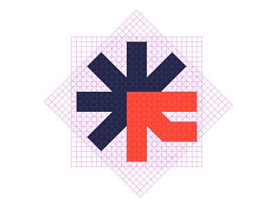 Logogrid Fugit arrow arrows arrowhead logos food flat indian logo designer logo maker star f asterisk f letter modern vector symbol icon mark f brand style guide grid logotype branding grid logo minimalist logo designer modern logo logo design