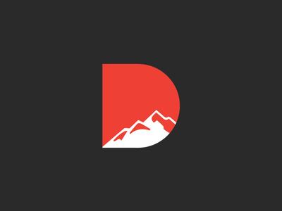 dhauladhar heights logo design