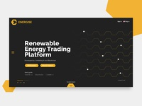 Energise (Energy trading Platform on blockchain) - ICO Website