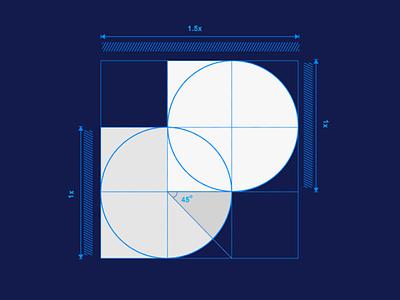 Dossier Logo Design Grid Construction modern logo design blockchain decentralized branding dd logo mark d logo monogram logo design grid construction logo grid notebook dossier logo