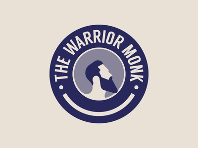 The Warrior Monk Emblem logo