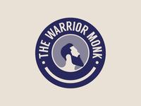 The Warrior Monk Emblem logo
