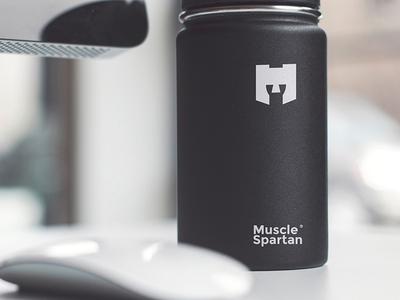 M gym logo -  Muscle Spartan