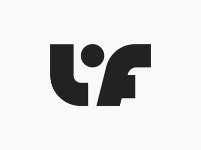 LF logo design - Life property developer 3rd logo concept