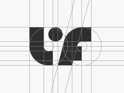 LF logo grid - Life property developer final logo