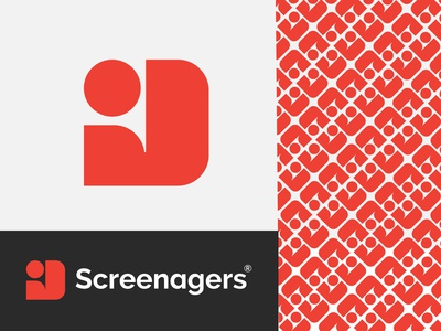 screenagers logo design