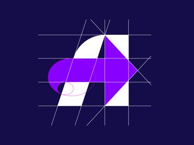 A arrow - Logo Grid