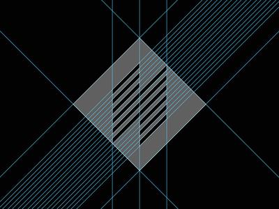 N logo - grid system