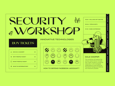 Security Workshop // Website Concept