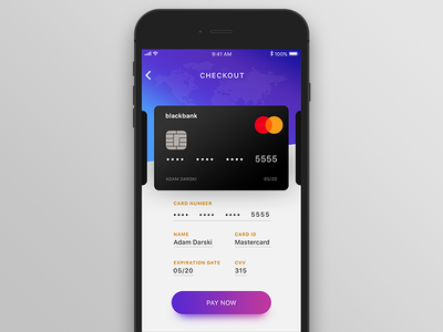 Credit Card Checkout [Daily UI #002]