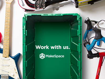 MakeSpace is Hiring! ux ui design hiring makespace product apps ios android website webdesign
